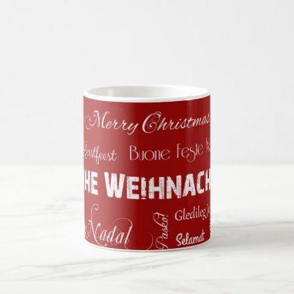 Frohe Weihnachten in vielen Sprachen! Coffee Mug