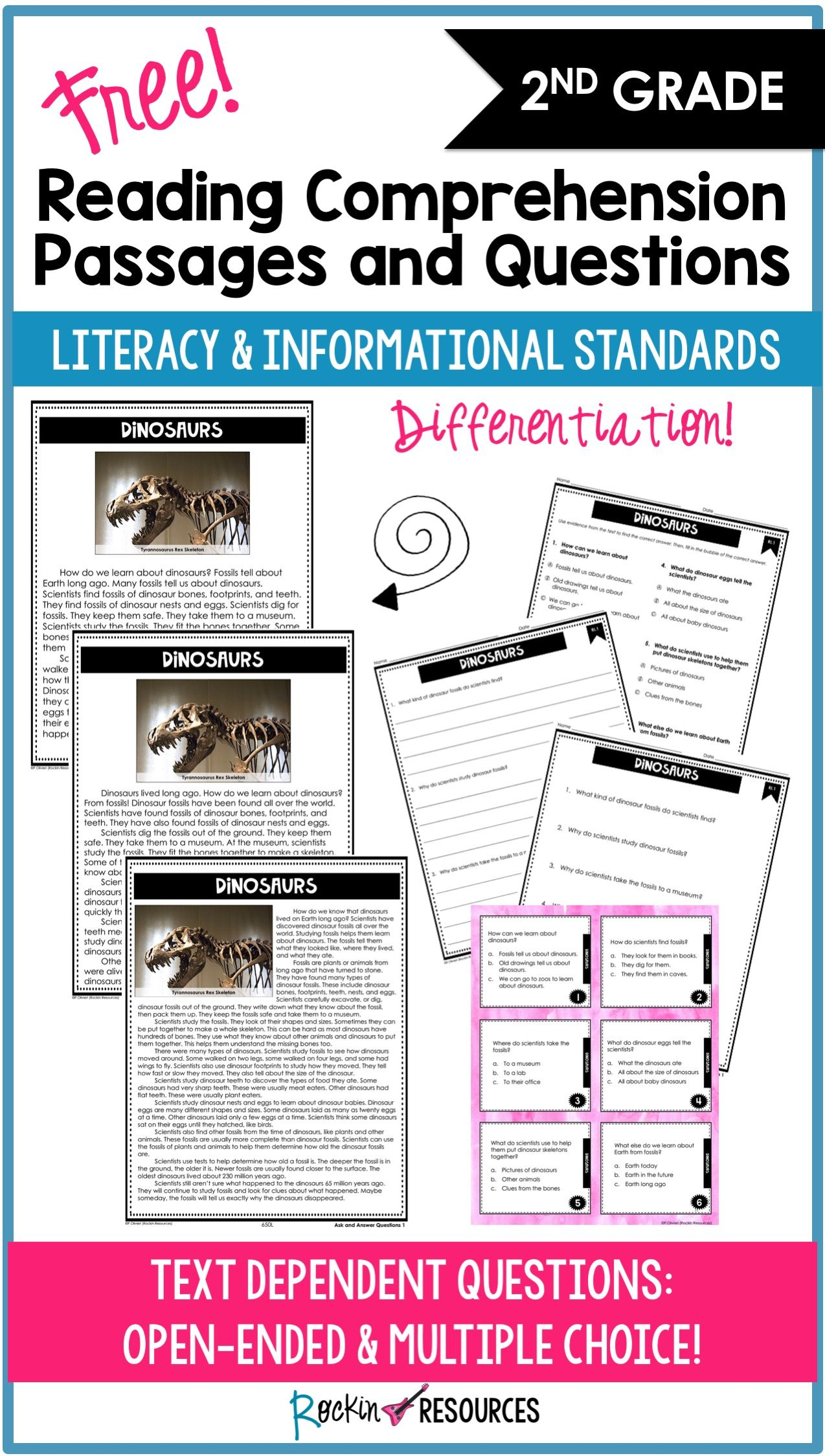 Reading Comprehension Passages Questions For 2nd Grade Free Distance Learning Reading Comprehension Passages Comprehension Passage Reading Comprehension [ 2249 x 1274 Pixel ]