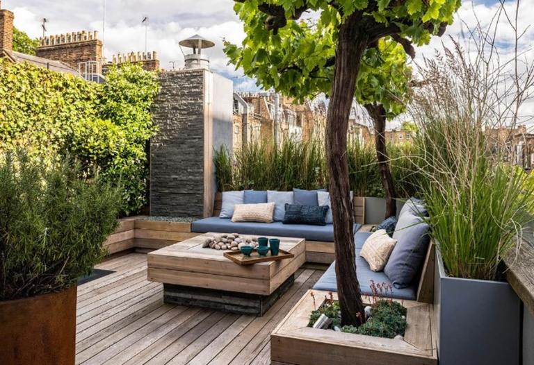 5 Inspiring Mini Landscape Garden Ideas Rooftop Terrace Design