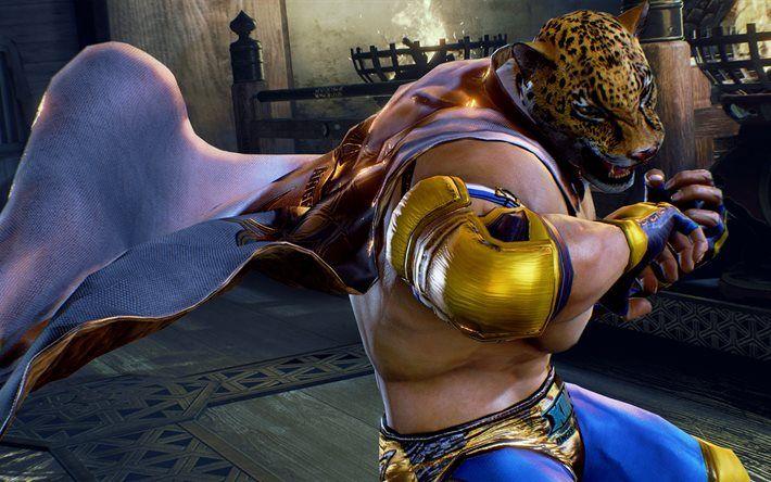 King 4k Characters Tekken 7 Fated Retribution Tekken 7 4k
