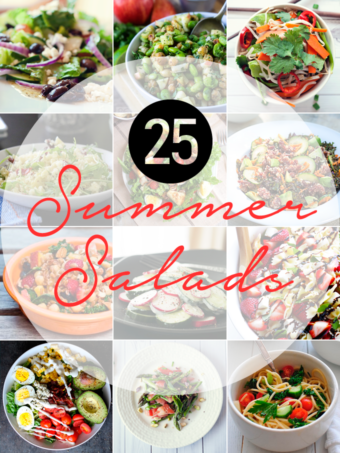 I have all the best summer salads to share with you, so you can maximize all of the season's best produce into deliciously stunning meals you'll love!