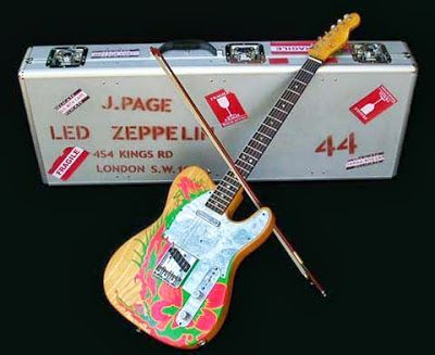 Jimmy Page's gear....the 'dragoncaster'....