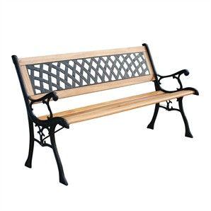 Marquee Lattice Park Bench - Bunnings Warehouse | Outdoor ...