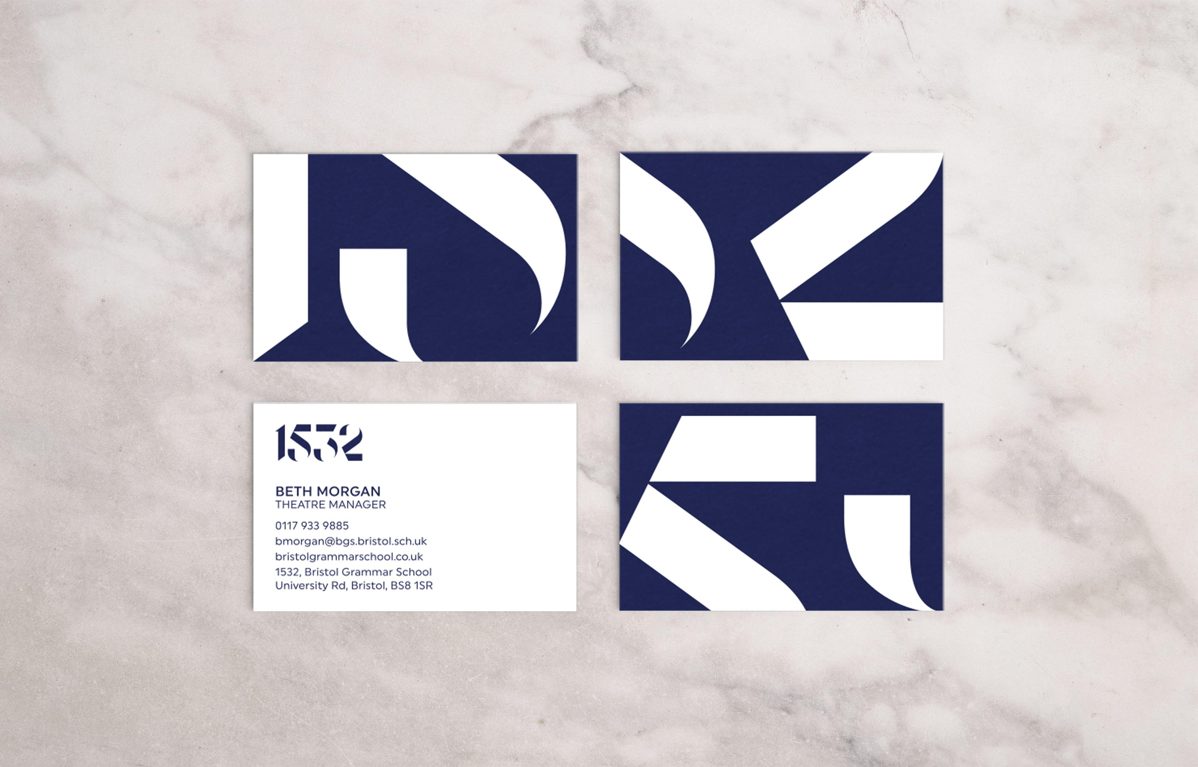 Bgs Bc Master Business Card Design Museum Identity Design