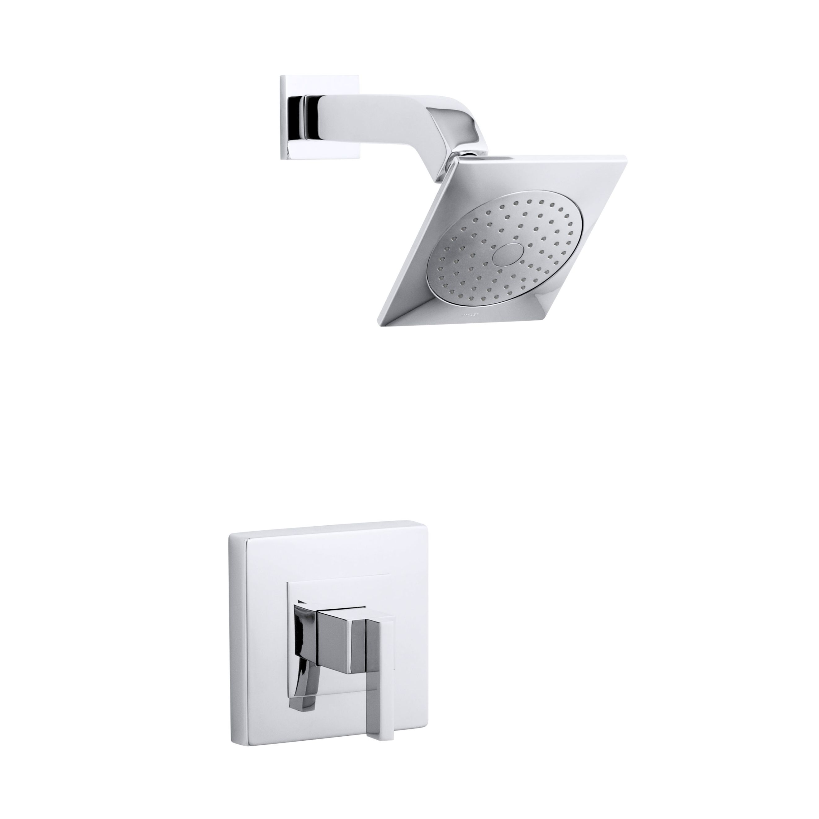 Kohler Loure Polished Chrome (Grey) Rite-Temp Shower Trim | Polished ...