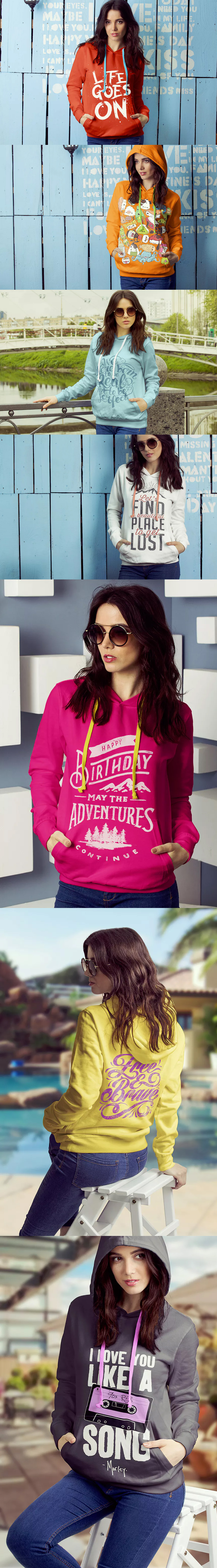 Download Female Hoodie Mockup By 2dsight On Envato Elements Hoodie Mockup Hoodies Womens Hoodies