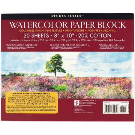 Studio Series Watercolor Block Watercolor Studio Outdoor