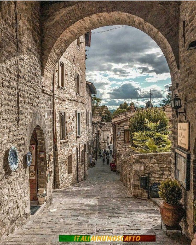 Gubbio italiana), Umbria, Perugia, Itália