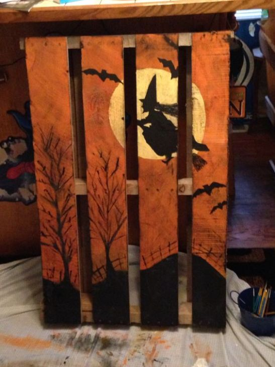 27 Creative Fall Pallet Projects for Decorating Your Home on a
