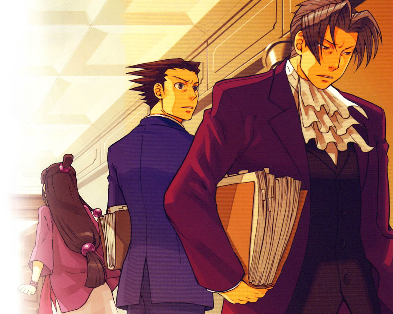 Ace Attorney Wallpaper Ace Attorneys Phoenix Wright