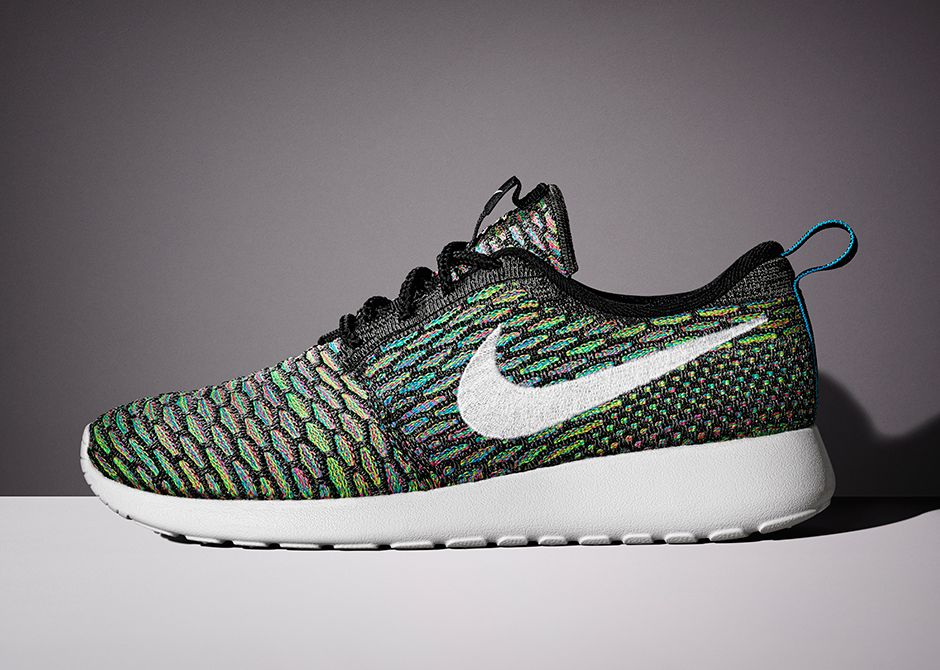 nike roshe flyknit womens multi colored sandals