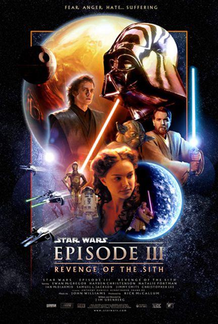 Star Wars La Revanche Des Siths : revanche, siths, Cilia, Film,, Movies, Posters,, Episodes