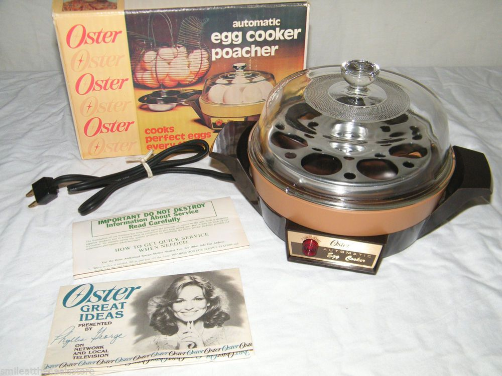 New In Box Vintage Oster Automatic Egg Cooker Poacher Electric. New In Box Vintage Oster Automatic Egg Cooker Poacher Electric Model 579. Wiring. Oster Popcorn Wiring Schematics At Scoala.co