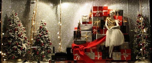 Decora tu tienda para Navidad Decoración para locales comerciales