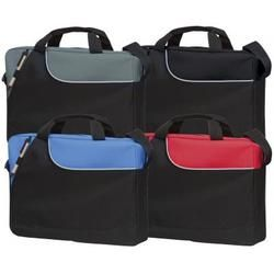 Keston Document Bag - ADV13.10571  600D polyester Reach compliant day bag complete with external pen loop, carry handles and shoulder strap.  #ConferenceBags #ExhibitionFolder #LovePromo #PromotionalGifts #ConferenceFolder