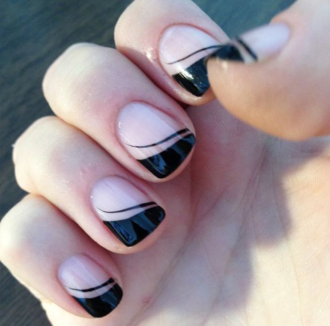 Simple nail art design for short nails nail designs pinterest simple nail art design for short nails prinsesfo Images