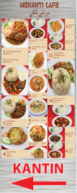 Contoh Bunting Food Resturant Beef