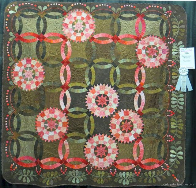 Cathy Geier's Quilty Art Blog: More Quilts from the AQS show in Paducah, 2015