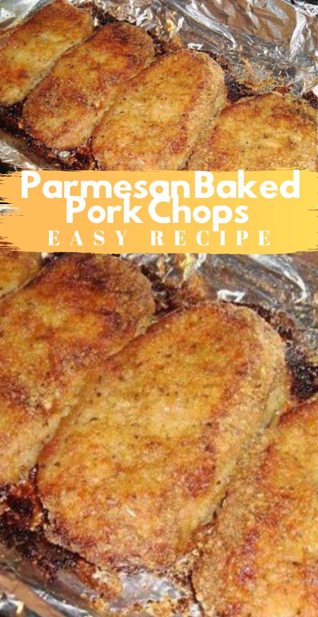 Photo of Healthy Parmesan Baked Pork Chops Recipe