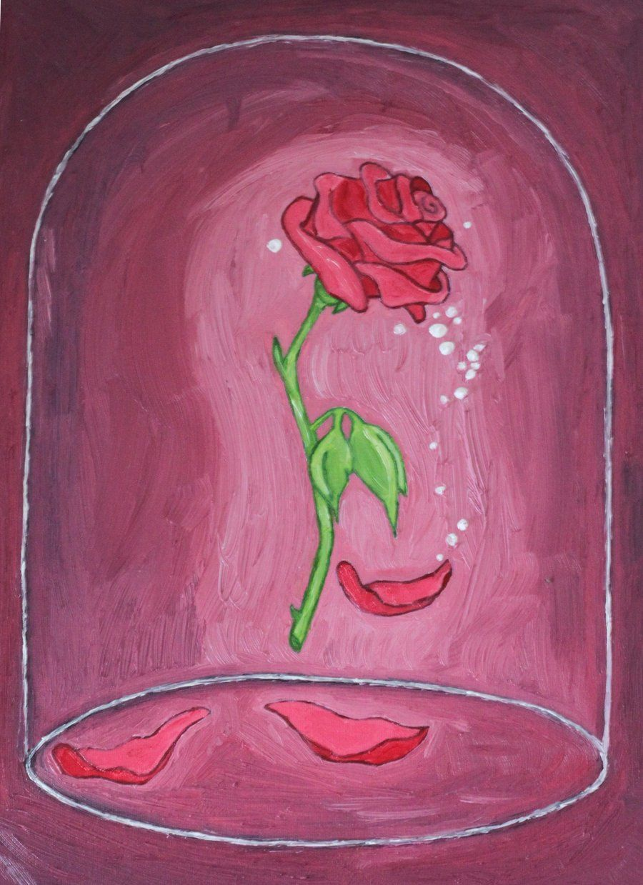 Beauty And The Beast Rose By Crestfallenrequiem D49mo8c Jpg 900 1239 Beauty And The Beast Drawing Rose Drawing Beauty And The Beast