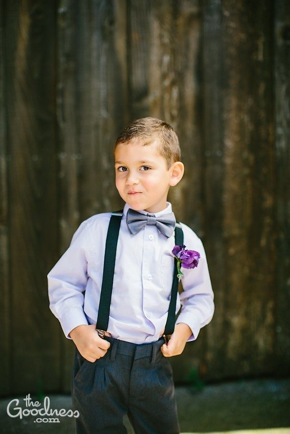 f4ee433c20f Full outfit of Shorts Bowtie Hat Suspenders and Shirt ring bearer