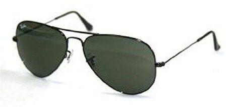 7311eb714ca Amazon.com  Ray-Ban RB3025 Aviator Large Metal Non-Polarized Sunglasses