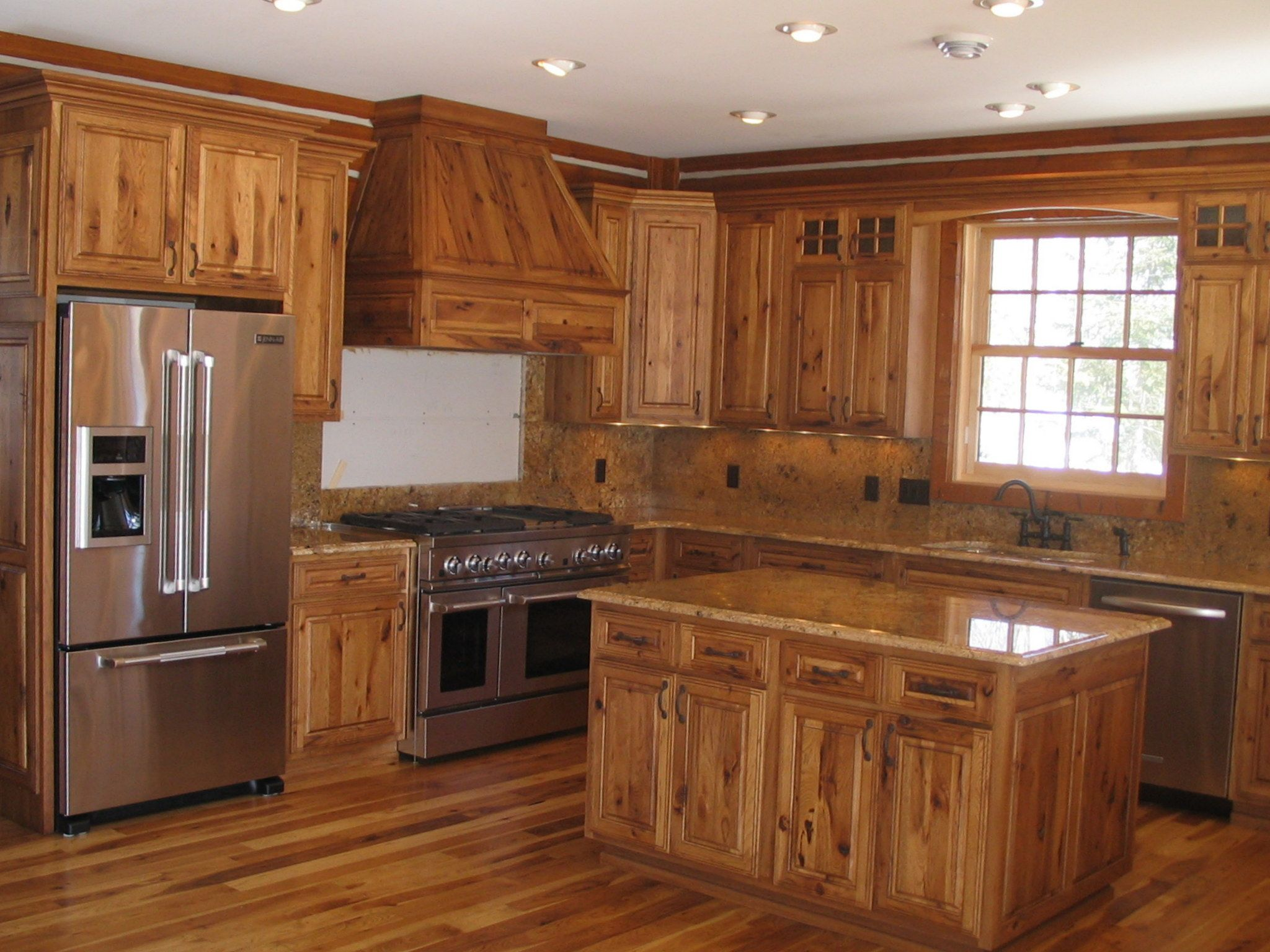 Holiday Kitchens Winchester Square Door Style Style Rustic Room Kitchen Material C Kitchen Cabinet Inspiration Rustic Kitchen Unfinished Kitchen Cabinets