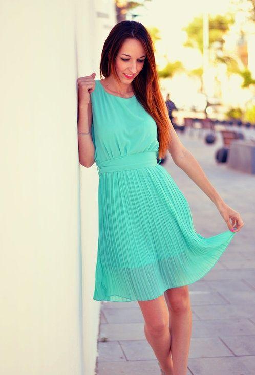 Beautiful Mint Dress <3