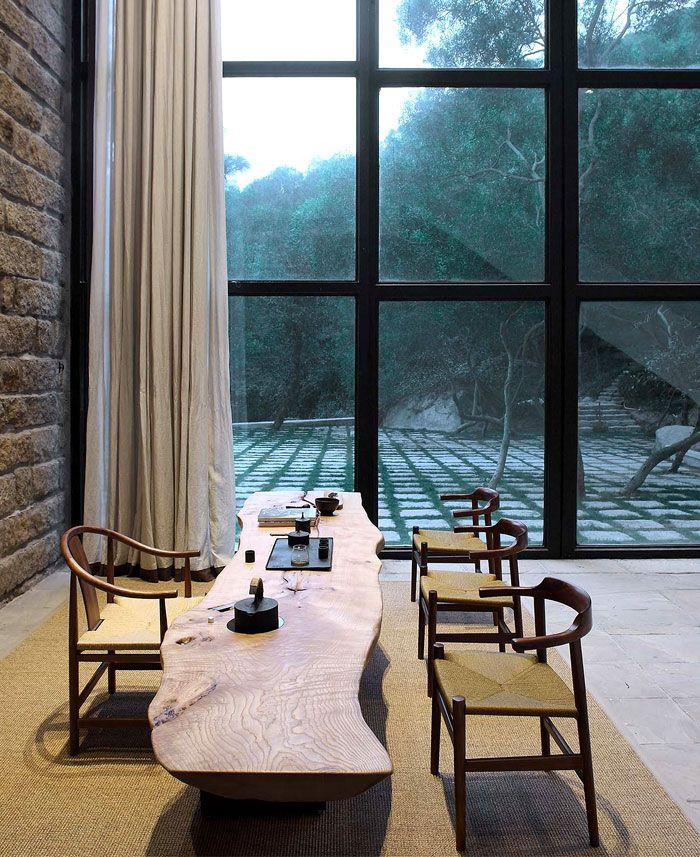 Peaceful countryside retreat by fmx interior design interiorzine