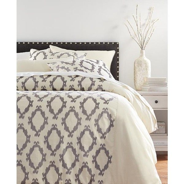Home decorators collection pompei grey bedding set 559 ❤ liked on polyvore featuring home