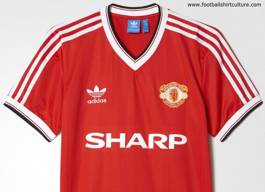 man utd retro shirts adidas
