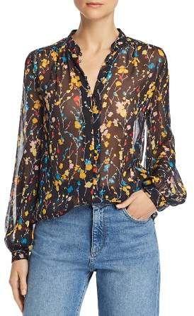 795be73378b52 Equipment Cornelia Floral Silk Blouse