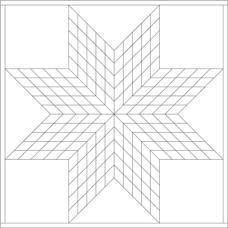 Star Quilt Coloring pages Lone star quilt pattern, Star