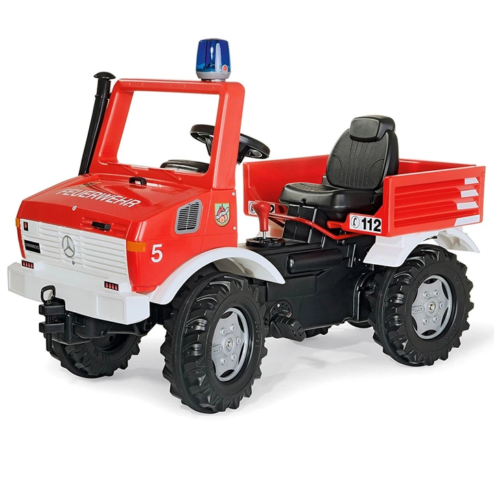 Rolly Toys Mercedes Unimog Samochod Na Pedaly 3 8l 7274254077 Oficjalne Archiwum Allegro Unimog Mercedes Unimog Fire Brigade