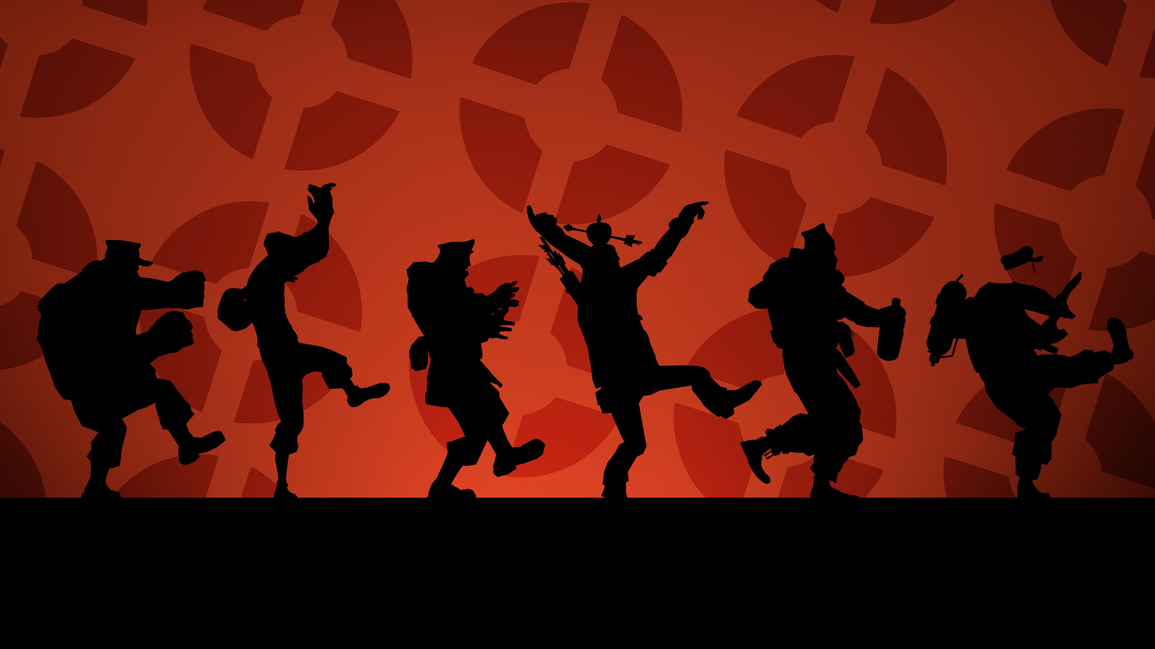 SFM] Red Conga Wallpaper #games #teamfortress2 #steam #tf2