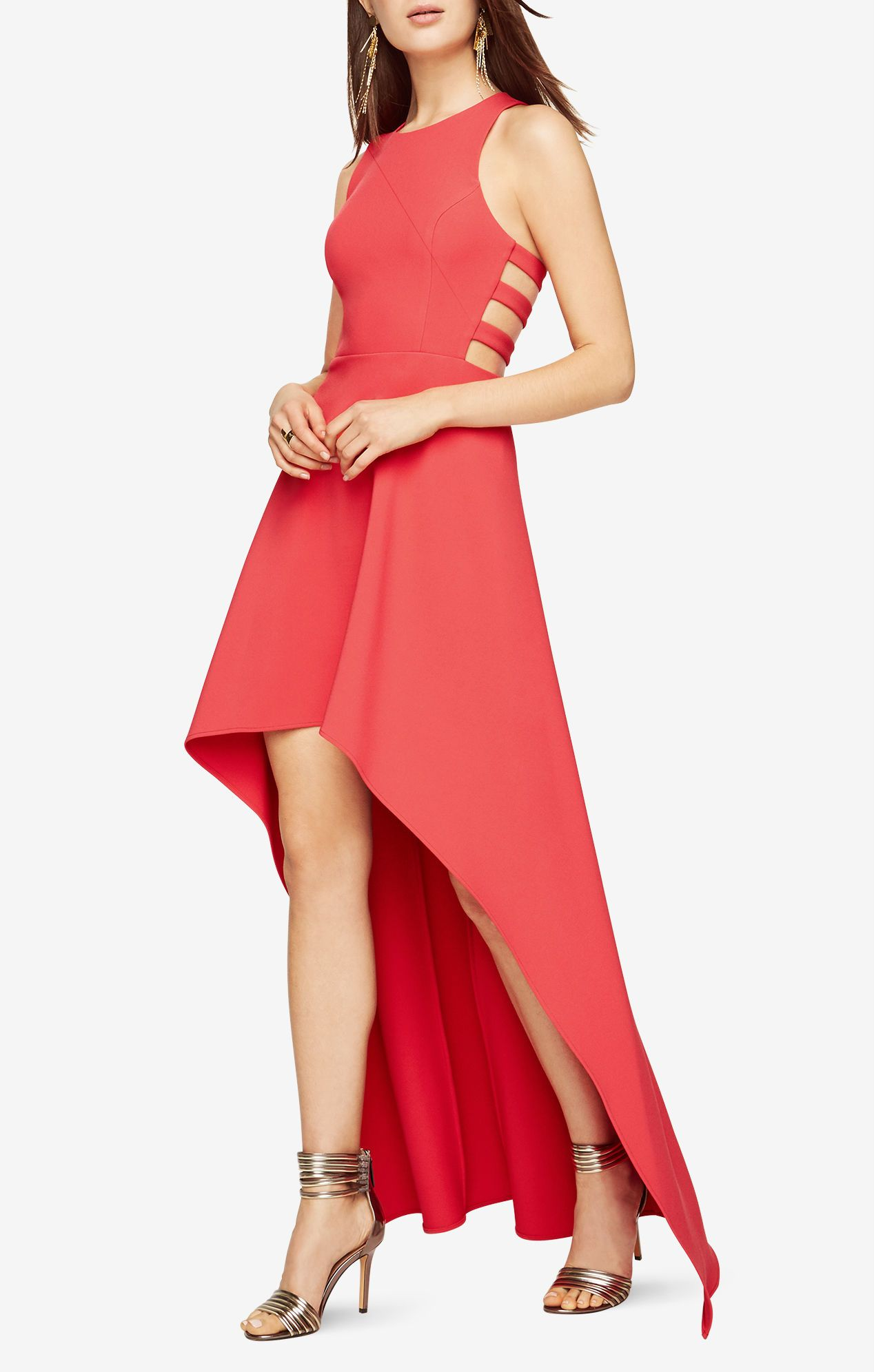 Rosalyn Cutout High Low Dress Dresses High Low Dress Clothes For Women