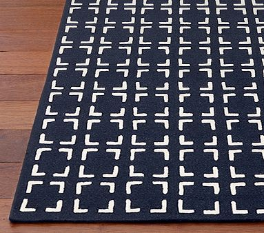Dawson Rug Navy Pottery Barn Kids Baby Room Rugs