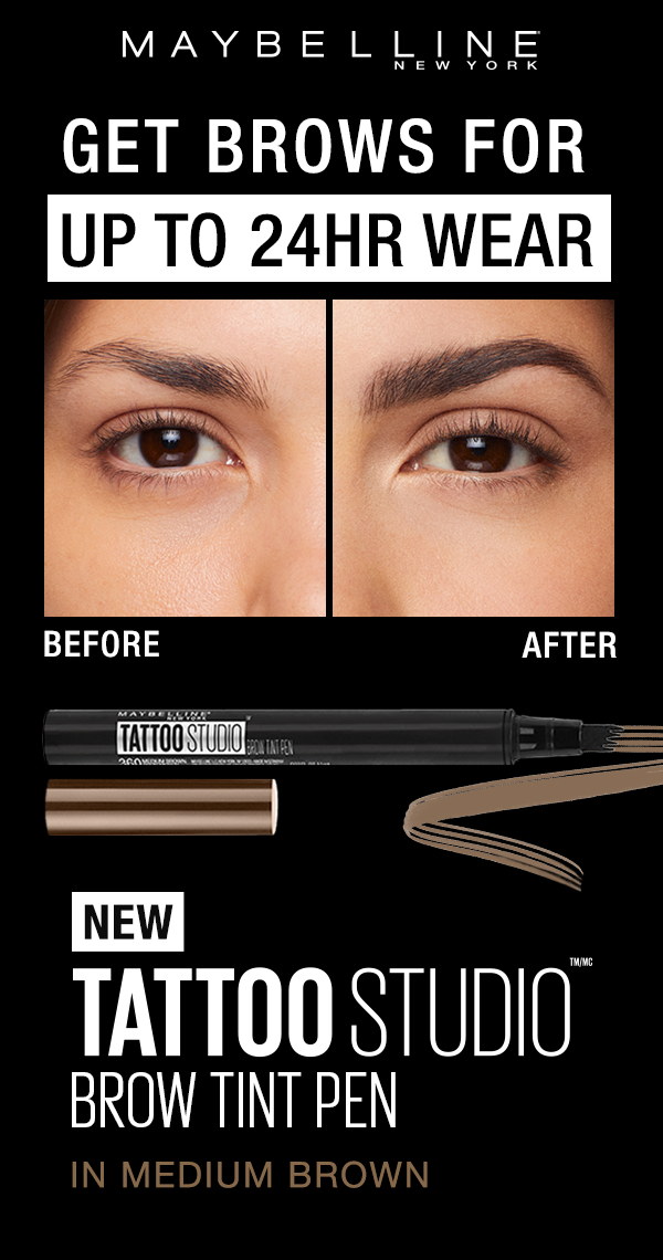 Tattoostudio Brow Tint Pens Lets You Create Natural Hair Like Strokes With Ease With The Multi Prong Tip You Brow Tinting Best Eyebrow Products Fill In Brows