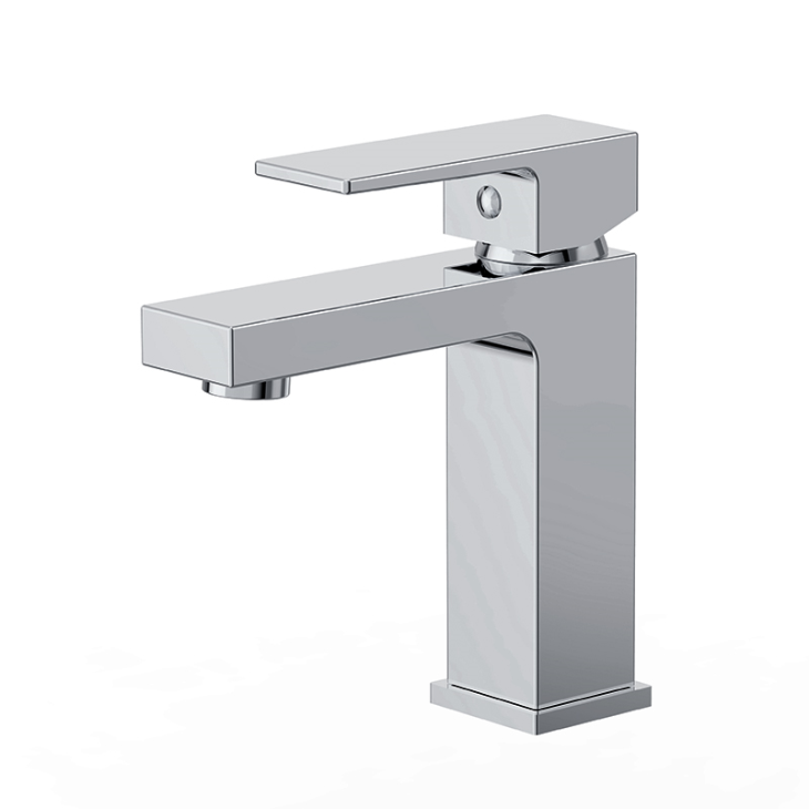 GF-145S-CP Modern Fashion Design Brass Single Lever Bathroom Sink ...