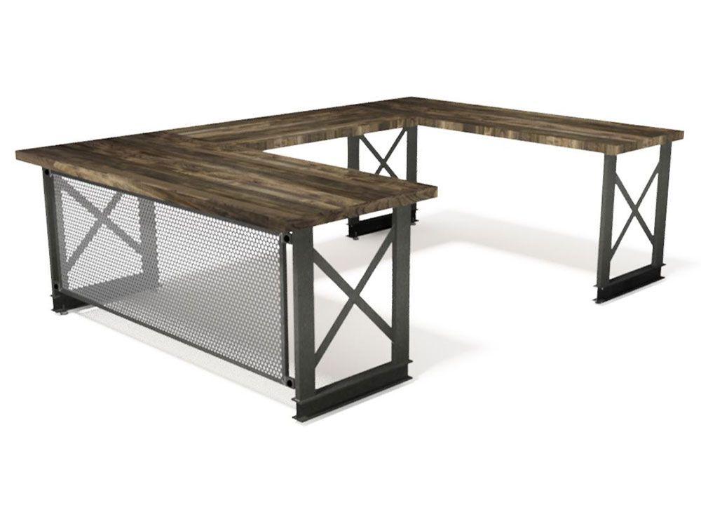 Iron Age Office Carruca U Shape Office Desk U Shaped Office