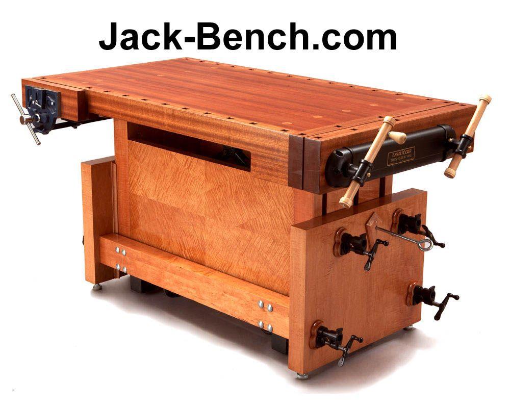 best adjustable height diy workbench plans | large wood