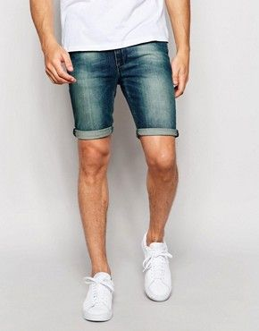 Men's Denim Shorts | Shop ASOS for men's denim shorts and denim jeans | ASOS