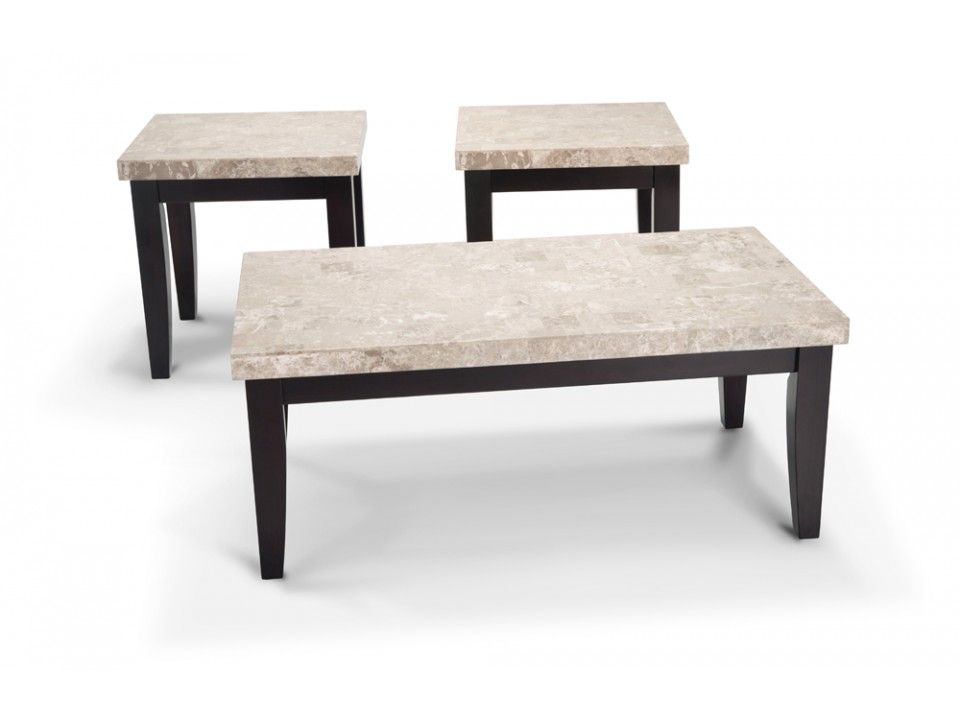 coffee table u0026 2 end tables with a real marble top