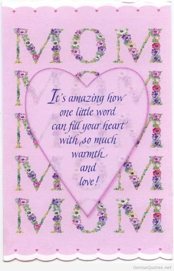Happy Birthday Mom Quotes From Son Creative Card Pinterest Mom