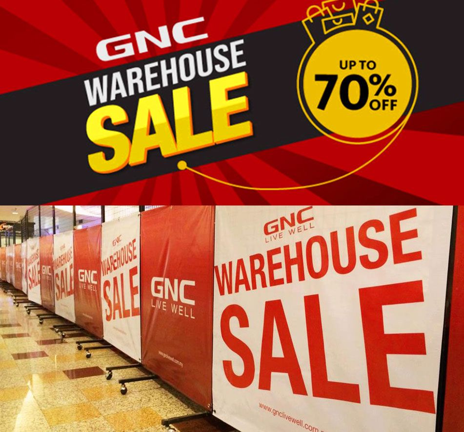 30 Oct 4 Nov 2018 Gnc Livewell Warehouse Sale Clearance Warehouse Sales Gnc Warehouse
