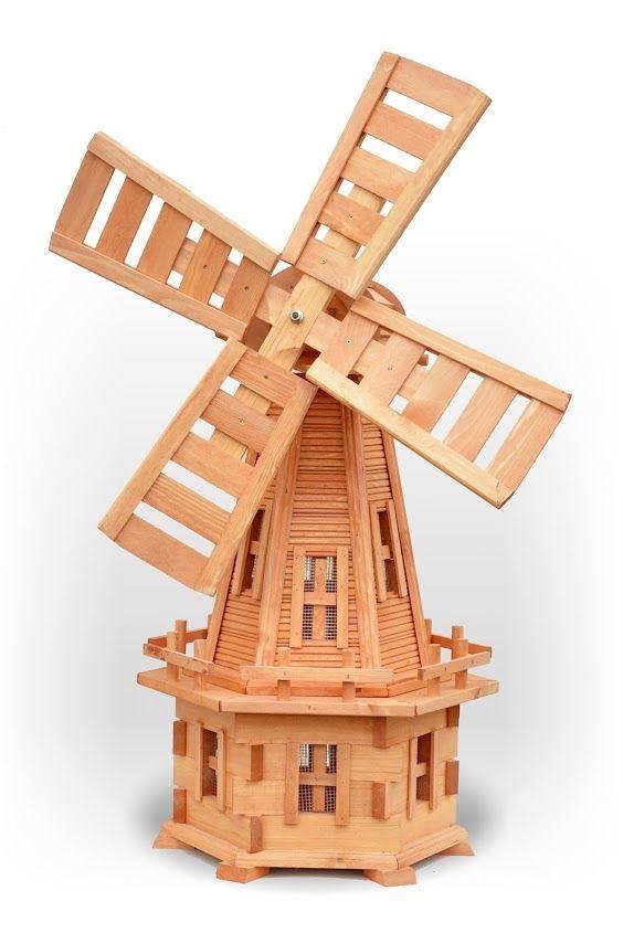 Wdo5 Drewniany Wiatrak Ogrodowy Producent Dekoracje Do