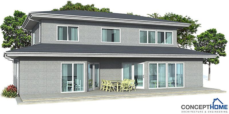 Modern House With Efficient Room Planning Four Bedrooms Suitable To Large Family Second