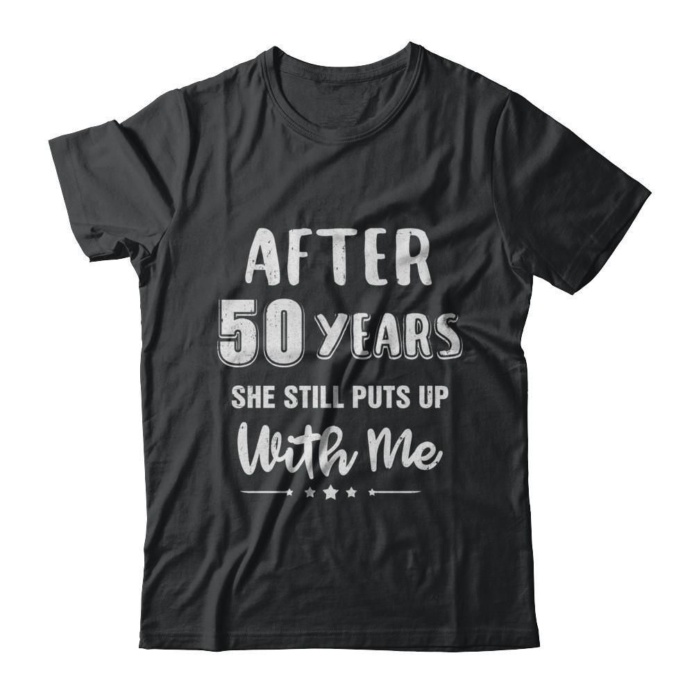 Wedding Gift Ideas For Brother: 50Th Wedding Anniversary Funny Husband Gift Shirt & Hoodie