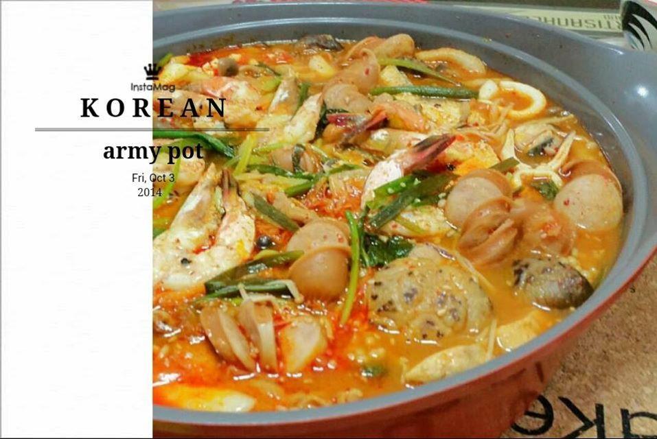 Singapore Home Cooks: Korean army hotpot by Felin Goh