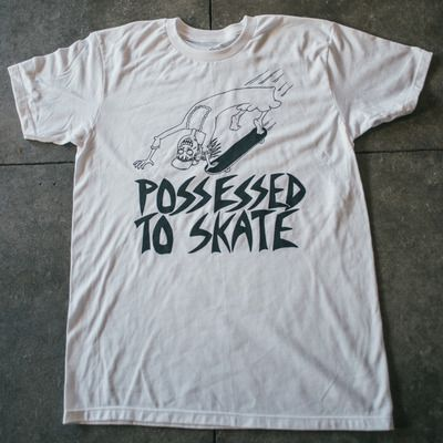 Possessed to skate tee shirt